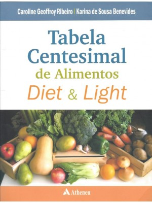 TABELA CENTESIMAL DE ALIMENTOS DIET & LIGHT